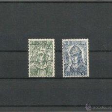 Sellos: 1939 HOLANDA CENTENARIO DE LA MUERTE DE SAN WILLIBRORD. Lote 52296201