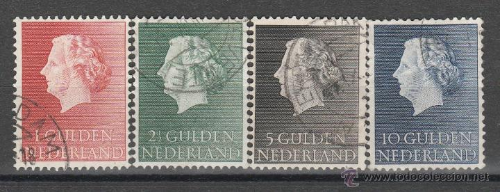 HOLANDA 1954-7 . SERIE : REINA JULIANA *.MH (Sellos - Extranjero - Europa - Holanda)