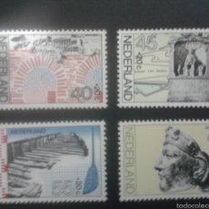 Sellos: SELLOS DE HOLANDA. YVERT 1068/71. SERIE COMPLETA NUEVA SIN CHARNELA. ARQUEOLOGÍA, ÉPOCA ROMANA. Lote 52641195