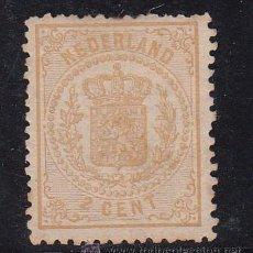 Sellos: HOLANDA 17 CON CHARNELA, ESCUDO NACIONAL, . Lote 54050764