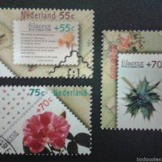 Sellos: SELLOS DE HOLANDA. YVERT 1306/08. SERIE COMPLETA USADA. . Lote 55089565