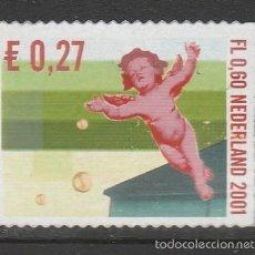 Sellos: HOLANDA 2001.NAVIDADES,. *,MH. Lote 58605960