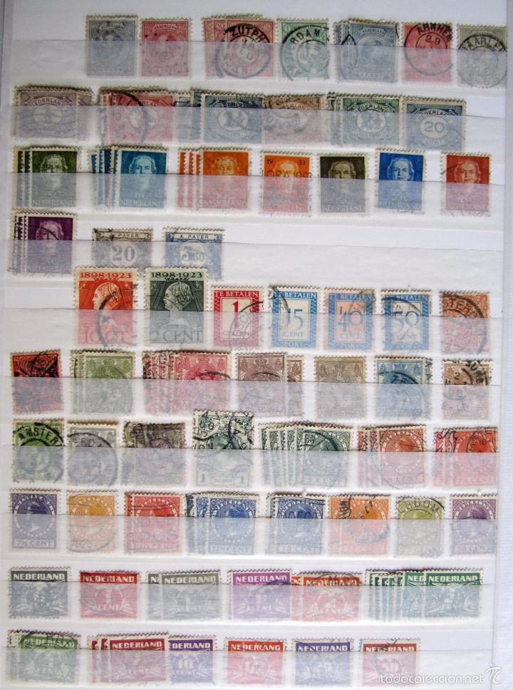 447 SELLOS USADOS HOLANDA (Sellos - Extranjero - Europa - Holanda)