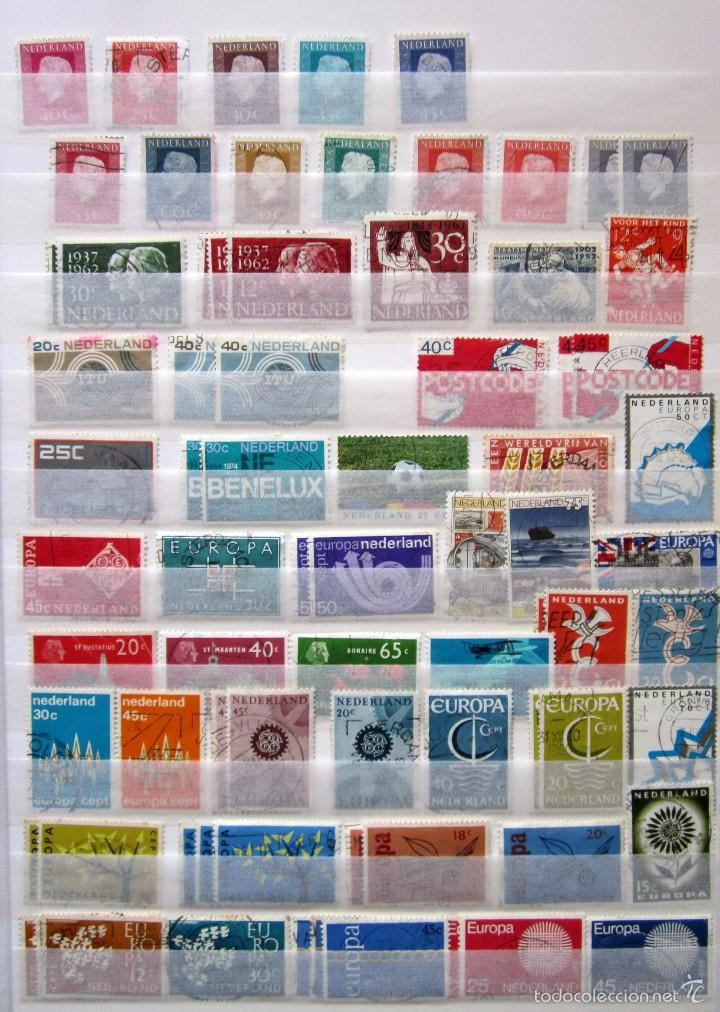 Sellos: 447 sellos usados HOLANDA - Foto 2 - 59105185