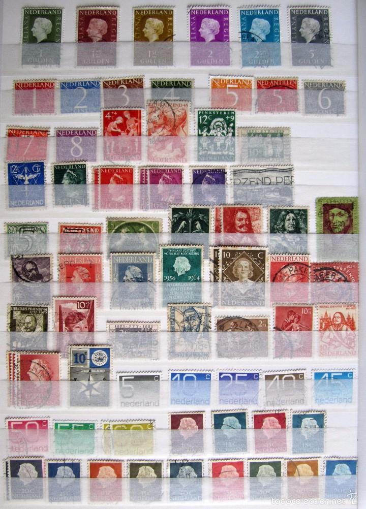 Sellos: 447 sellos usados HOLANDA - Foto 3 - 59105185