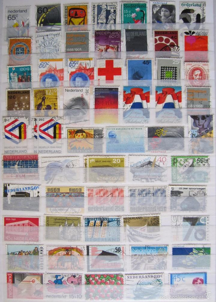 Sellos: 447 sellos usados HOLANDA - Foto 5 - 59105185