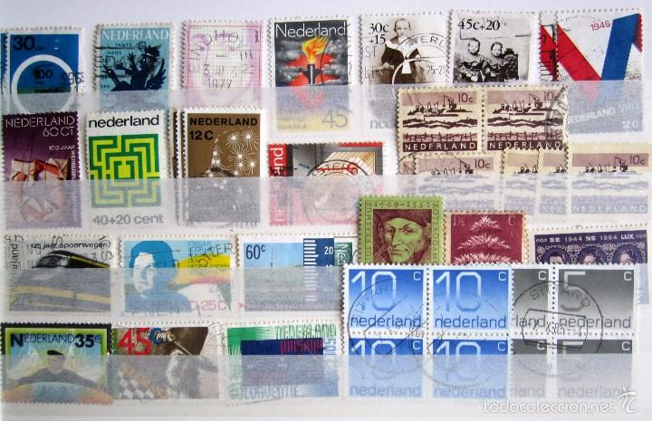 Sellos: 447 sellos usados HOLANDA - Foto 6 - 59105185