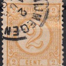 Sellos: IVERT 32. USADO. SELLO DE 1876-94. CIFRAS. Lote 141227977