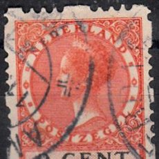 Sellos: IVERT 175A TIPO B. USADO. SELLO DE 1926-28. GUILLERMINA.. Lote 60009139