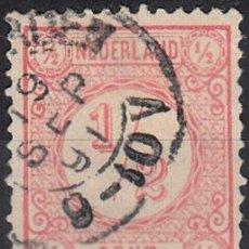 Sellos: HOLANDA 1876-94. YVERT 30 USADO.. Lote 62005748