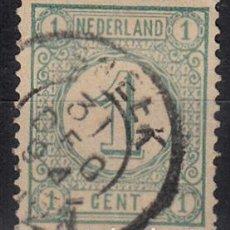 Sellos: HOLANDA 1876-94. YVERT 31 USADO.. Lote 141481074