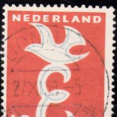 Sellos: HOLANDA 1958. YVERT 691 USADO. EUROPA.. Lote 207136435