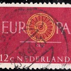 Sellos: HOLANDA 1960. YVERT 726 USADO. EUROPA.. Lote 207136487