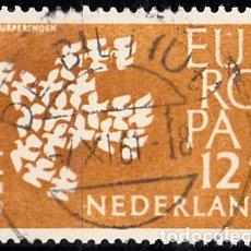 Sellos: HOLANDA 1961. YVERT 738 USADO. EUROPA.. Lote 207136900