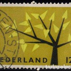 Sellos: HOLANDA 1962. YVERT 758 USADO. EUROPA.. Lote 207137731
