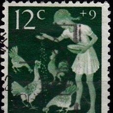 Sellos: HOLANDA 1962. YVERT 765 USADO. PRO INFANCIA.. Lote 276554908