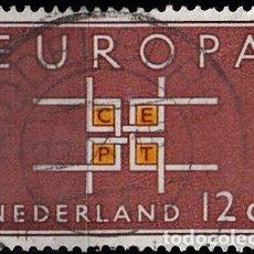 Sellos: HOLANDA 1963. YVERT 780 USADO. EUROPA.. Lote 207136538