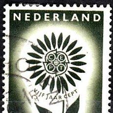 Sellos: HOLANDA 1964. YVERT 801 USADO. EUROPA.. Lote 207137800