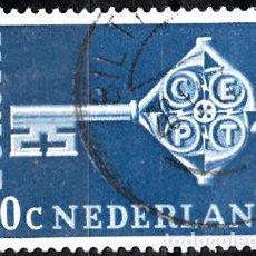 Sellos: HOLANDA 1968. YVERT 871 USADO. EUROPA.. Lote 207137951