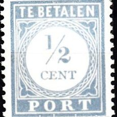 Timbres: HOLANDA 1912-22. YVERT TASA 44 NUEVO CON FIJASELLOS.. Lote 189878692