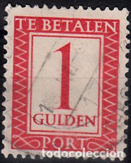 HOLANDA 1947-58. YVERT TASA 104 USADO. (Sellos - Extranjero - Europa - Holanda)