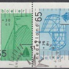 Sellos: HOLANDA 1989. YVERT, PROCEDENTES DE CARNET 1331A USADO. BARCOS.. Lote 62099588