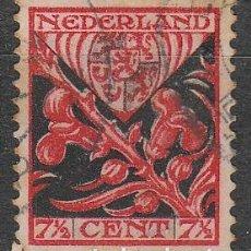 Sellos: HOLANDA IVERT Nº 197, ESCUDO DE LIMBOURG, EN BENEFICIO OBRAS PARA LA INFANCIA, USADO (AÑO 1927). Lote 70996521