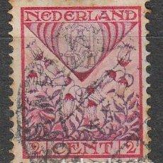 Sellos: HOLANDA IVERT Nº 195, ESCUDO DE DRENTHE, EN BENEFICIO OBRAS PARA LA INFANCIA, USADO (AÑO 1927). Lote 70997637