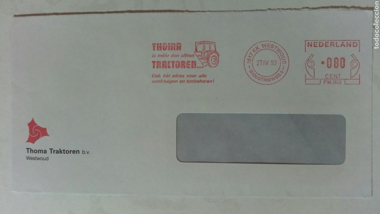 HOLANDA 1983 FRANQUEO MECÁNICO THOMA TRACTOREN (Sellos - Extranjero - Europa - Holanda)