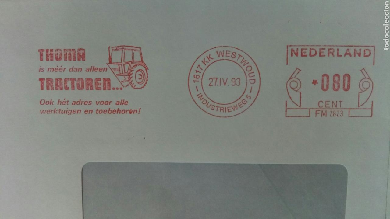 Sellos: Holanda 1983 franqueo mecánico THOMA TRACTOREN - Foto 2 - 74749823