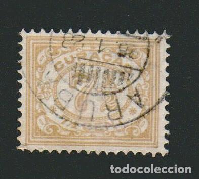 HOLANDA.COLONIAS DEL CARIBE.CURAÇAO.1915-20.-7 1/2 CENT.YVERT 49.USADO (Sellos - Extranjero - Europa - Holanda)