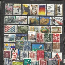 Sellos: G82-LOTE SELLOS HOLANDA SIN TASAR,ANTIGUOS,MODERNOS,SIN REPETIDOS. ***************** STAMPS LOT WITH. Lote 78392525