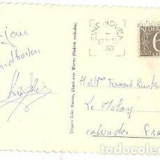 Sellos: HOLANDA & BILHETE POSTAL, ST. CATHARINA KERK EINDHOVEN, LE MOLAY-LITTRY, CALVADOS FRANCE 1960 (245. Lote 84776464