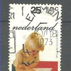 Sellos: YT 972 HOLANDA 1972. Lote 167729736