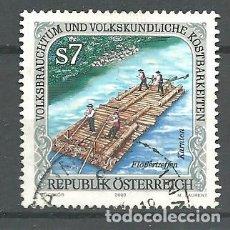 Sellos: YT 2155 AUSTRIA 2000. Lote 115386178
