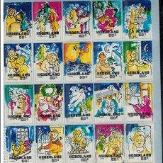 Sellos: HOJA BLOQUE DE HOLANDA NAVIDAD 1996. Lote 98448799