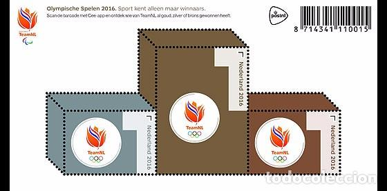NETHERLANDS 2016 - OLYMPIC GAMES 2016 SHEET MNH (Sellos - Extranjero - Europa - Holanda)