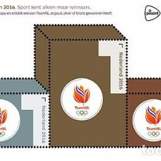 Sellos: NETHERLANDS 2016 - OLYMPIC GAMES 2016 SHEET MNH. Lote 100404335