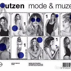 Sellos: NETHERLANDS 2016 - DOUTZEN KROES - MODEL AND MUSE SOUVENIR SHEET MNH. Lote 100404487