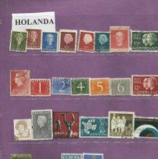 Sellos: COLECCIÓN DE SELLOS DE HOLANDA. Lote 101216351