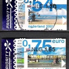 Sellos: HOLANDA 2001 - USADO. Lote 103048707