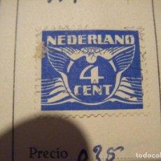 Sellos: HML SELLO NEDERLAND HOLANDA 4 CENT 4 CENTIMOS. RARO. Lote 105890895