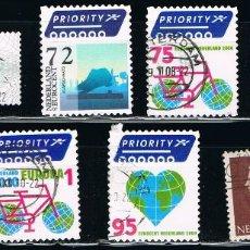 Sellos: HOLANDA - LOTE DE 10 SELLOS - VARIOS (USADO) LOTE 39. Lote 115384415