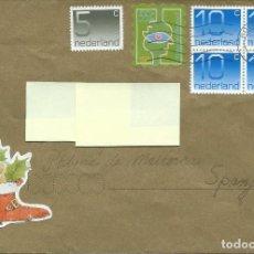 Sellos: 1997. HOLANDA/NETHERLANDS. SOBRE CIRCULADO DE ROTTERDAM A PALMA DE MALLORCA. BONITO FRANQUEO.. Lote 117915023