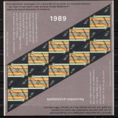 Sellos: HOLANDA 1344 HB** - AÑO 1989 - NAVIDAD. Lote 128444255