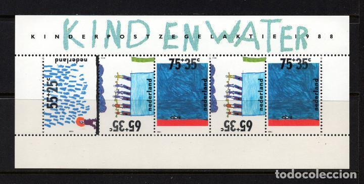 HOLANDA HB 32** - AÑO 1988 - PRO INFANCIA (Sellos - Extranjero - Europa - Holanda)
