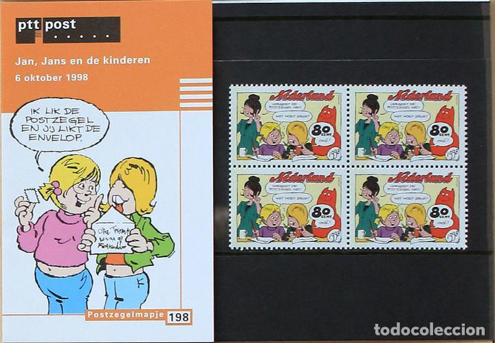 0f3af58bc holanda 1998    nuevo    mnh    cómics  jan