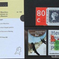 Sellos - Holanda 1995 • YT 1496-1498 ** Nuevo ** • Combinado en estuche de presentación 132 - 130415822