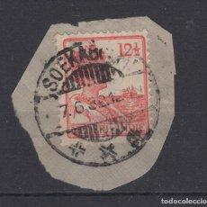 Sellos: 1922 REINA WILHELMINA NETHERLANDS - INDIE 12-1/2 CÉNTIMOS USADO NARANJA. Lote 132926302
