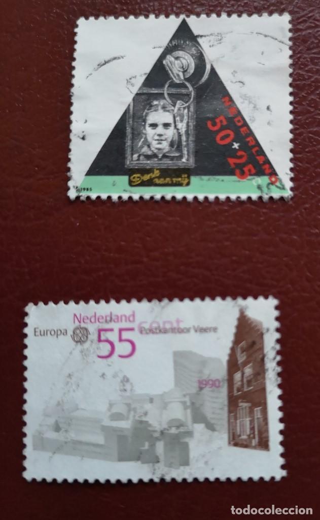 Sellos: Lote Holanda 4 sellos usado - Foto 3 - 134342614